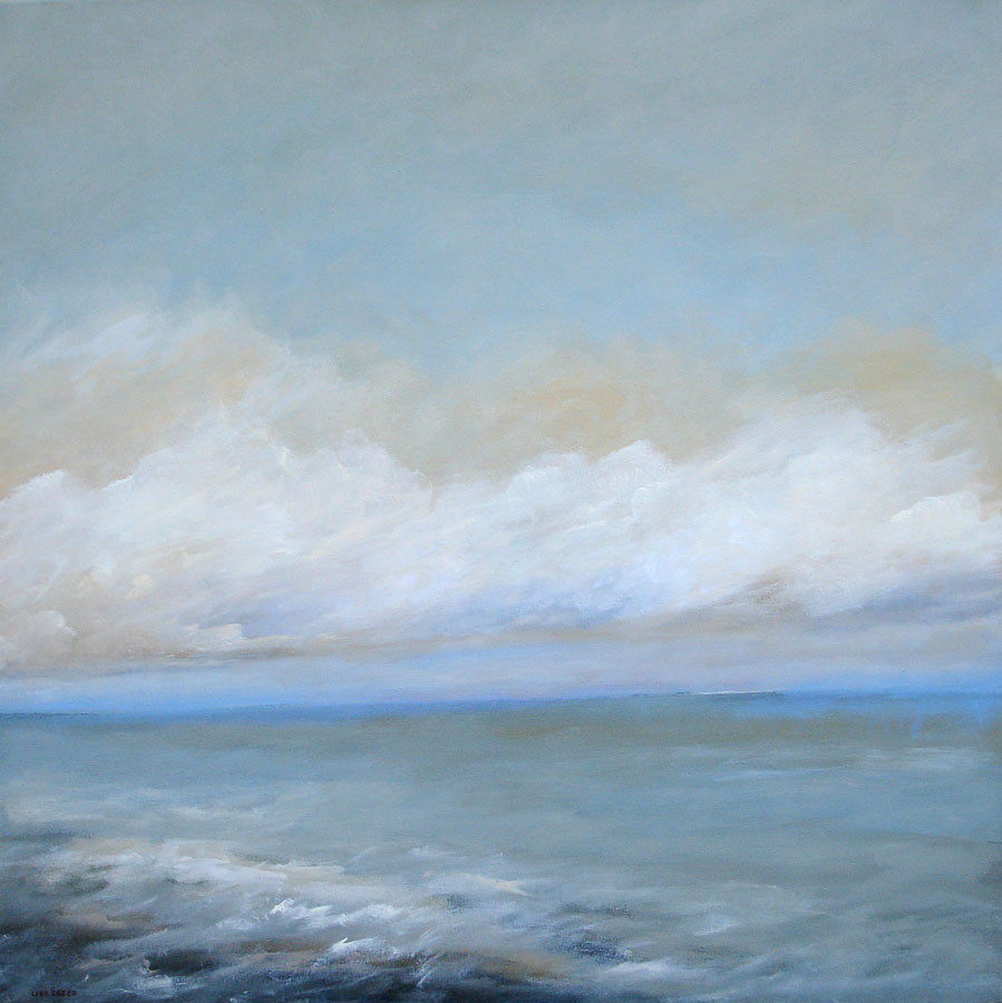 "Weather or Not 30"" x 30"" (sold) -"